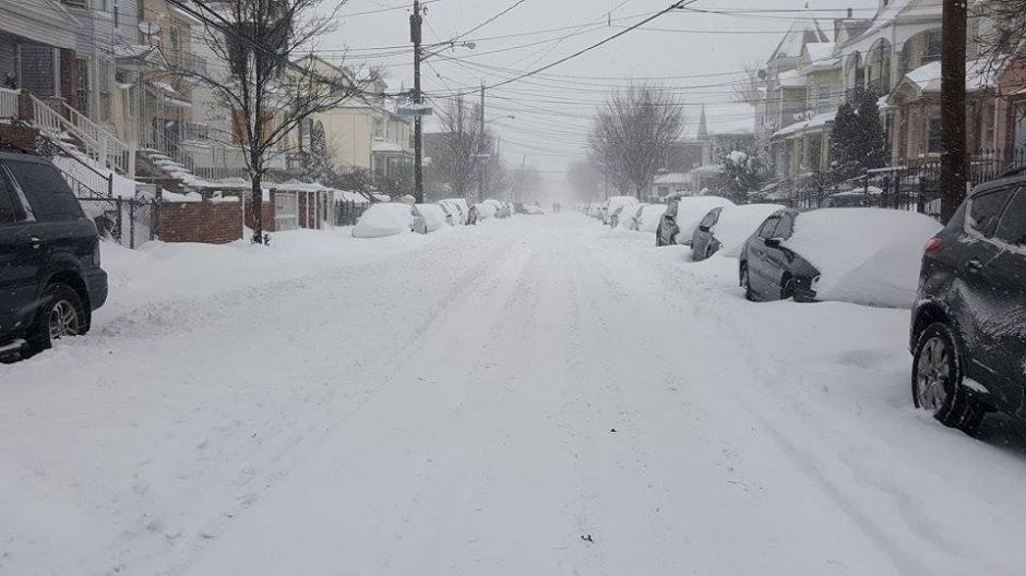 85 millones de personas resultaron afectados por la nevada. (Foto: Facebook/Selvyn Melgar)