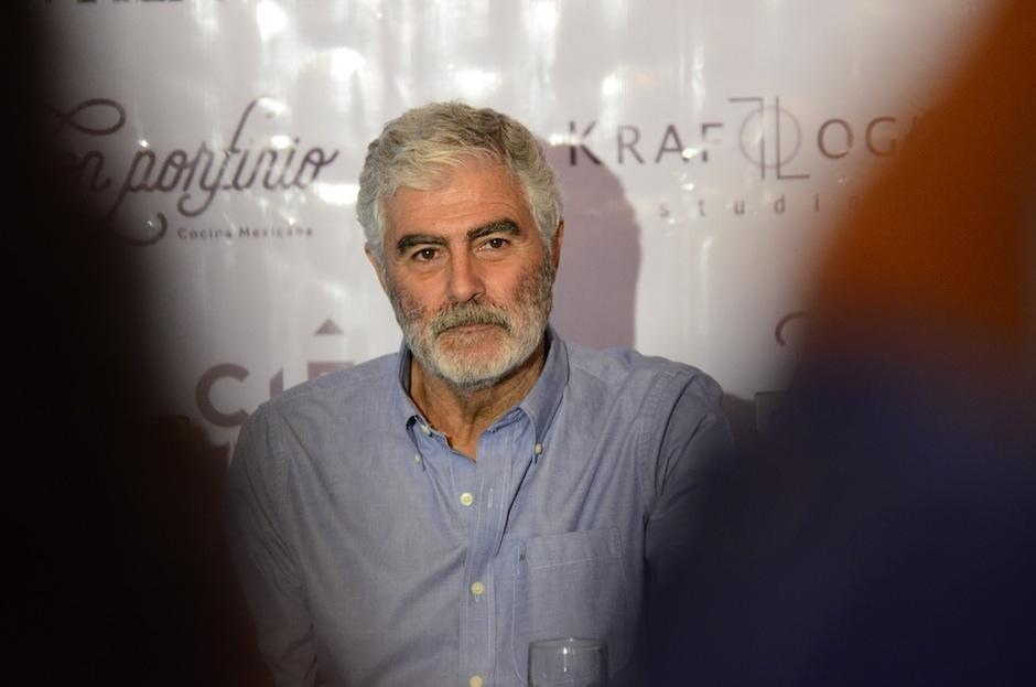 El argentino Saúl Lisazo protagoniza el film. (Foto: Selene Mejía/Soy502)