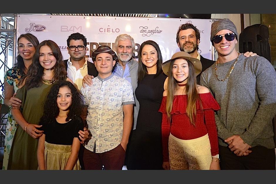 Actores guatemaltecos y mexicanos protagonizan Septiempbre, un llanto en Silencio. (Foto: Selene Mejía/Soy502)