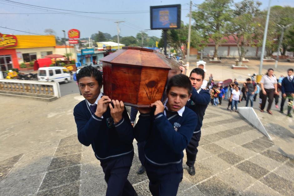 Los restos fueron identificados por los reactivos que compró Inacif.  (Foto: Jesús Alfonso/Soy502)