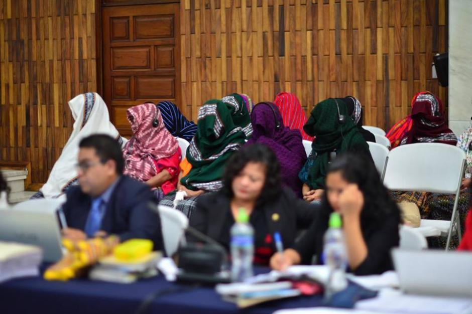 Vista de las sobrevivientes de abusos sexuales durante el Conflicto Armado Interno. (Foto: Jesús Alfonso/Soy502)