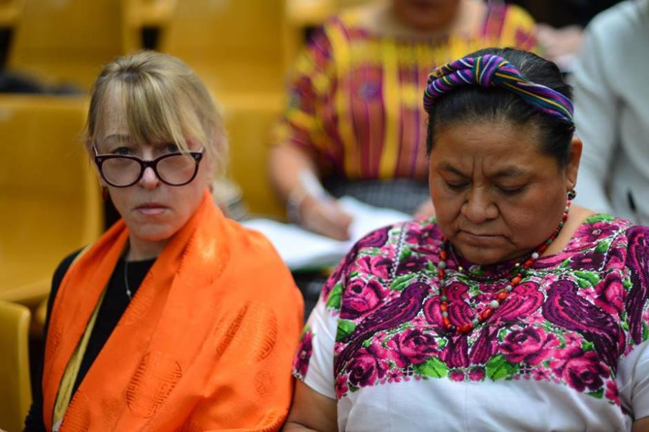Una de las sobrevivientes del caso conocido como Sepur Zarco.(Foto: Wilder López/Soy502)
