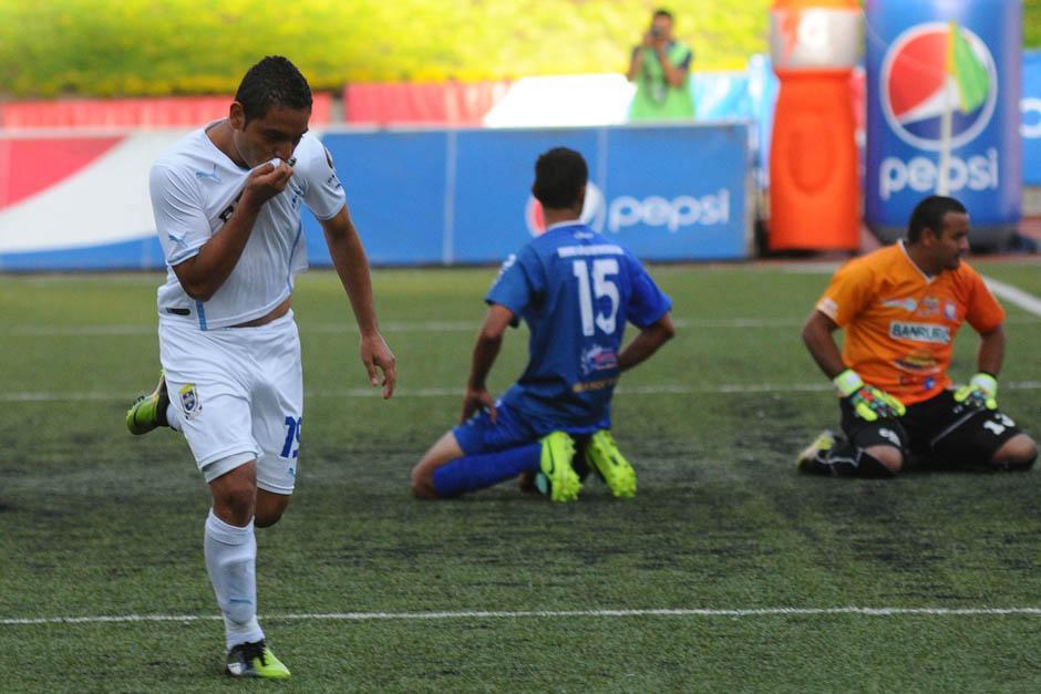 Bryan Ordoñez suma dos goles en el actual torneo con Comunicaciones, que se ubica en el liderato del Clausura con siete puntos