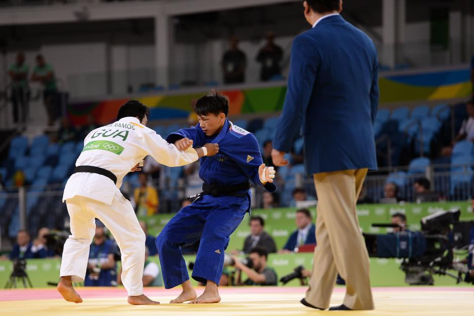 El combate duró un minuto y 36 segundos. (Foto: Sergio Muñoz/Enviado ACD)