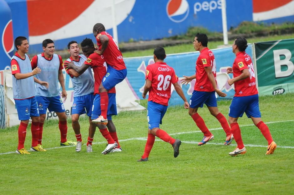 El gol fue anotado por Marvin Ávila. (Foto: Nuesto Diario)