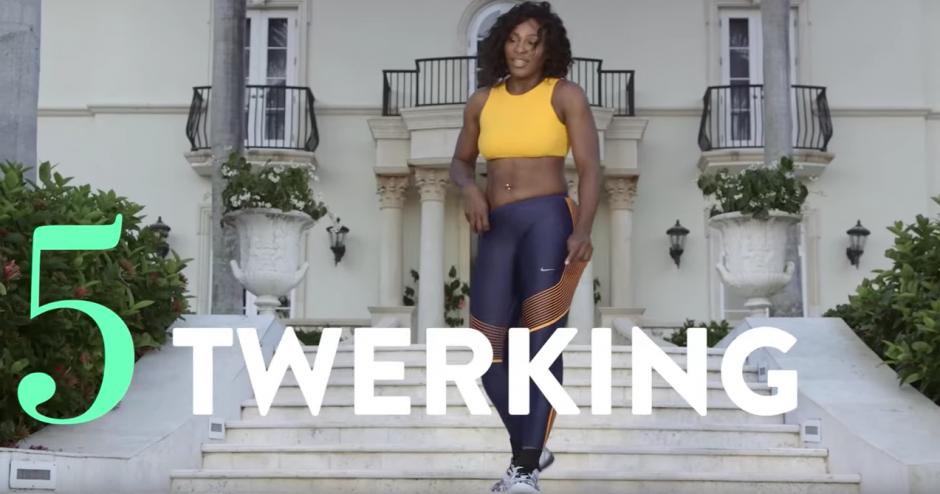 """Después de todo esto puedes iniciar un """"twerking"""". (Captura de pantalla: SELF Magazine/YouTube)"""