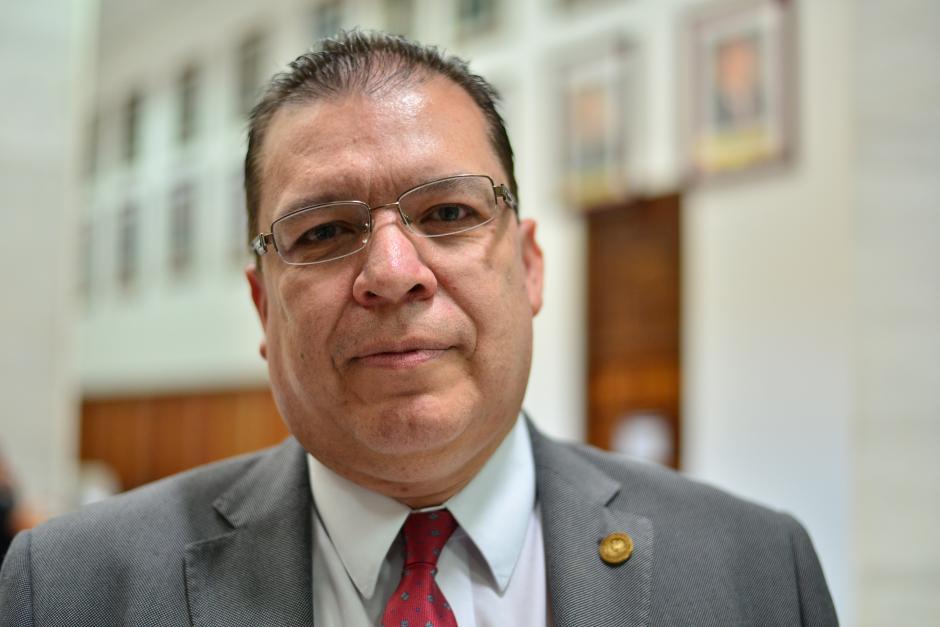 Sergio Amadeo Pineda Castañeda ocupa actualmente un cargo de magistrado de la CSJ. (Foto Wilder López/Soy502)