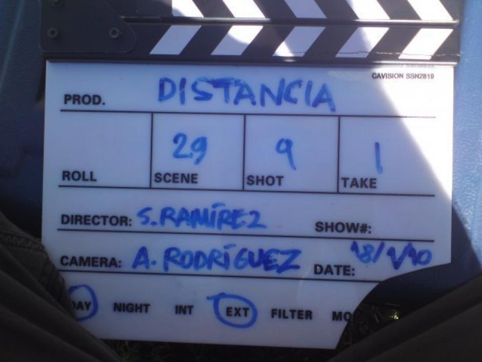 Distancia es la exitosa película de Sergio Ramírez. (Foto: Sergio Ramírez)