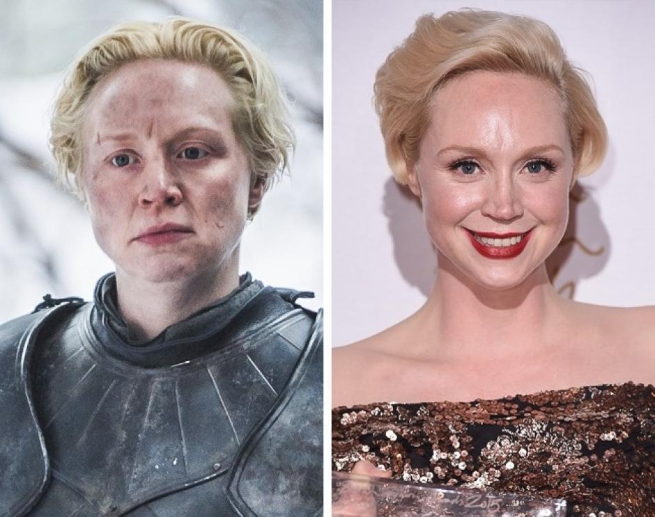Brienne de Tarth es Gwendoline Christie de Juego de Tronos. (Foto: elsalvador.com)