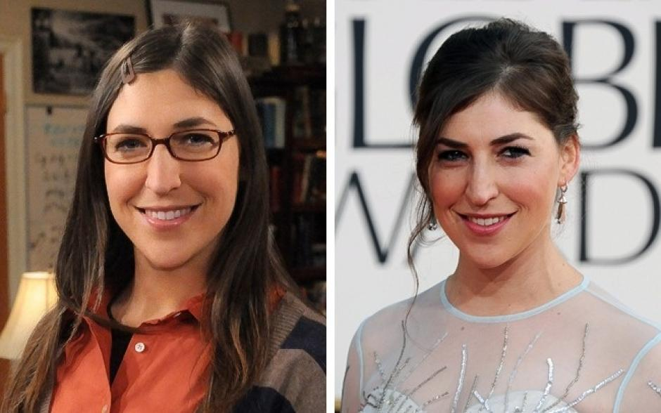 Amy Fowler es Mayin Bialik The Big Bang Theory. (Foto: elsalvador.com)