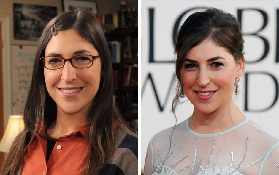 Amy Fowler es Mayin Bialik The Big Bang Theory. (Foto: elsalvador.com)