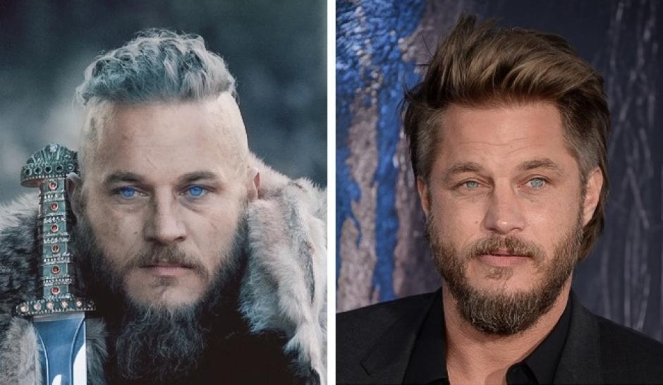 Ragnar Lodbrok, Travis Fimmel Vikingos. (Foto: Foto: elsaalvador,com)