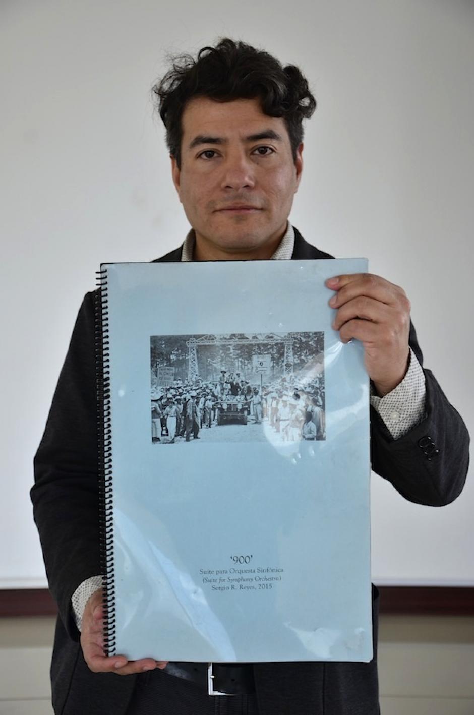 Reyes desea presentar esta pieza en Guatemala. (Foto: Selene Mejía/Soy502)