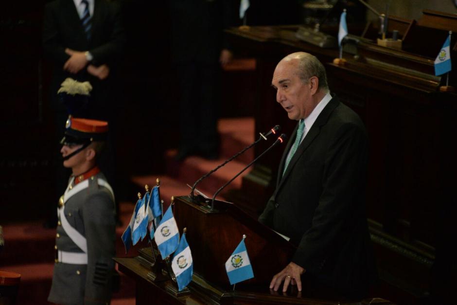 El último en hablar fue Taracena. (Foto: Wilder López/Soy502)
