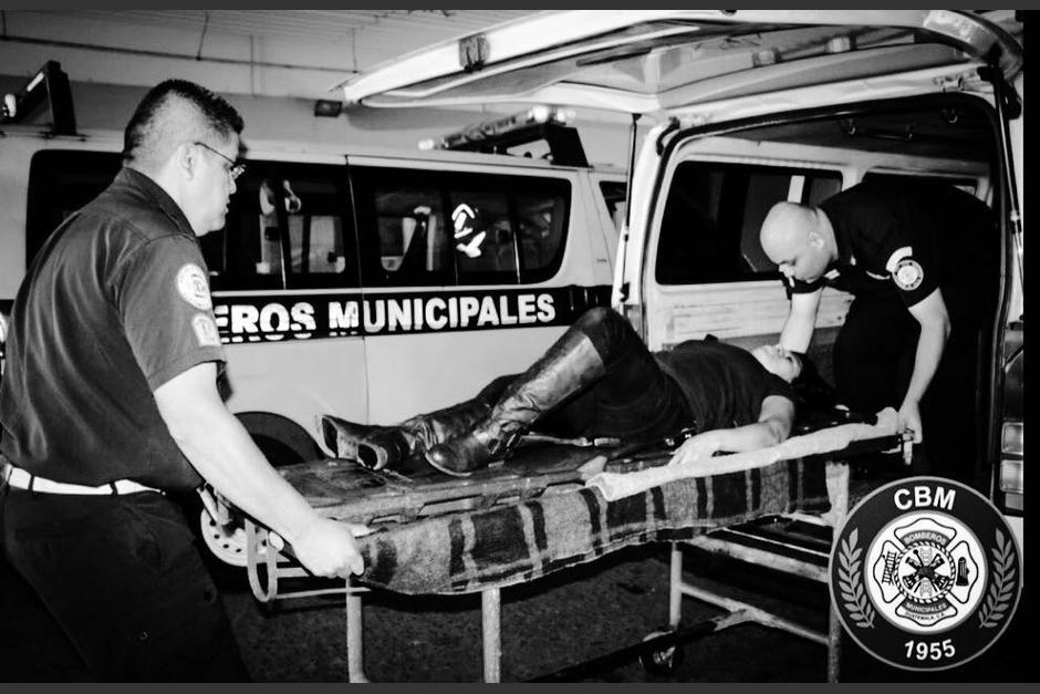 Tres mujeres fueron trasladas al hospital General. (Foto: Bomberos Municipales)