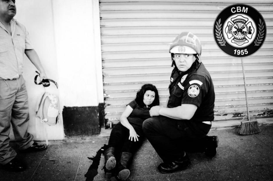Varias mujeres entre las personas heridas. (Foto: Bomberos Municipales)
