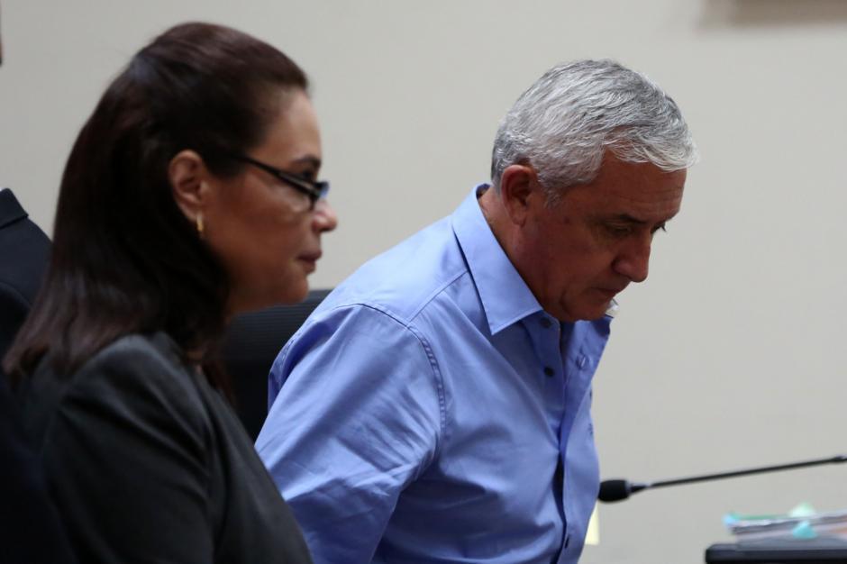 Otto Pérez Molina y Roxana Baldetti renunciaron a sus cargos en 2015. (Foto: EFE)