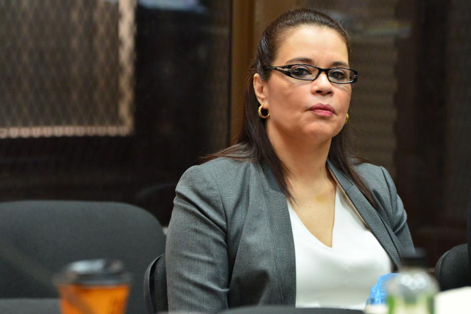 Roxana Baldetti, exvicepresidenta de Guatemala. (Foto: Jesús Alfonso/Soy502)