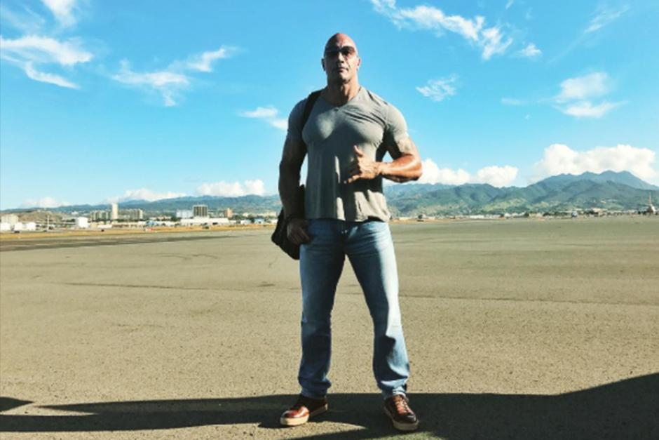 El actor, más conocido como La Roca, es considerado el hombre vivo más sexy del año según People. (Foto: Instagram)