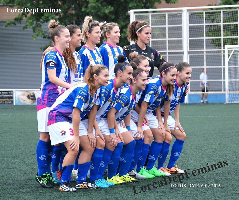 El equipo Lorca marcha de líder en la segunda división femenina del fútbol español. (Foto: ABC)