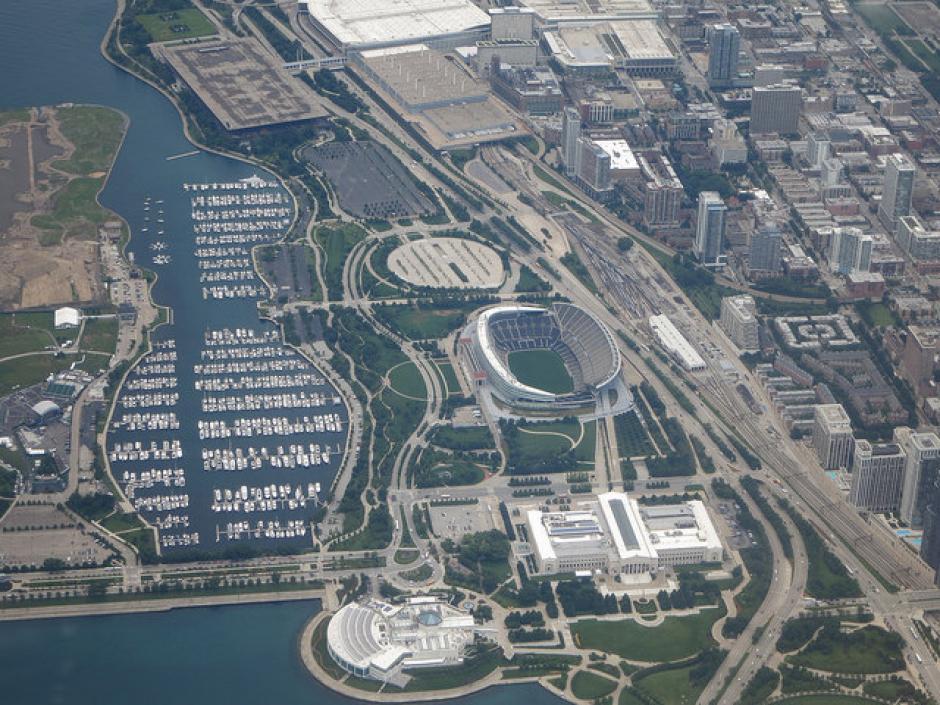 El estadio Soldier Field tiene capacidad para 61 mil 500 espectadores. (Foto: copaamericacentenario.com)