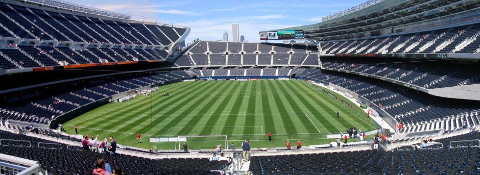 El Soldier Field fue sede de los Chicago Fire de la MLS. (Foto: en.wikipedia.org)