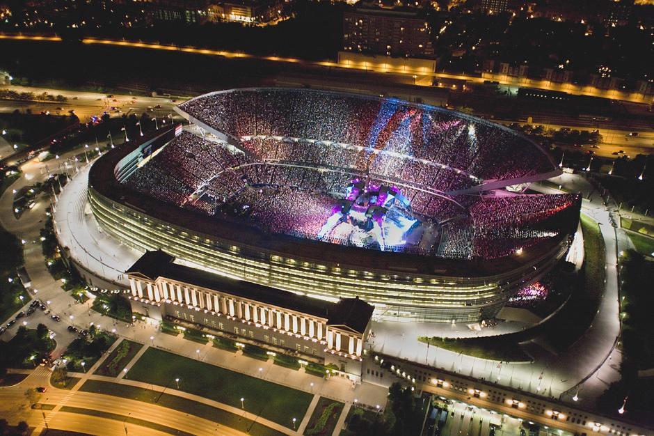 En el estadio se han realizado una serie de conciertos musicales. (Foto: sportsmockery.com)