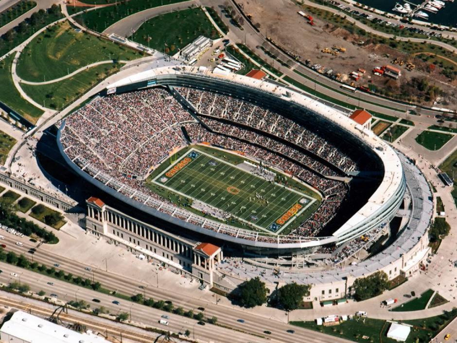 El Soldier Field será sede de la semifinal de la Copa América Centenario. (Foto: topimages.org)