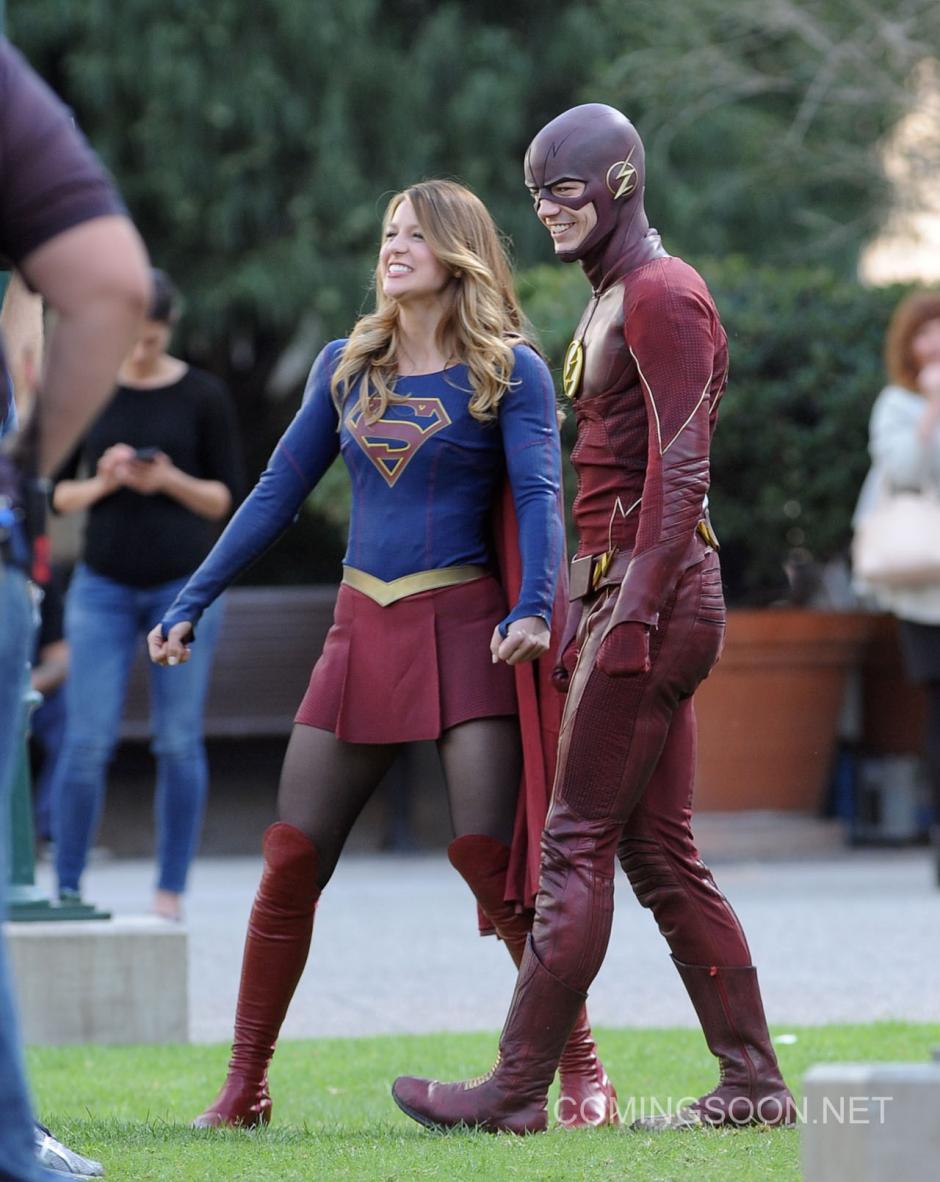"""""""Worlds Finest"""", es el nombre del capítulo que hará realidad el periodismo cruzado entre Supergirl y Flash. (Foto: comingsoon.net)"""