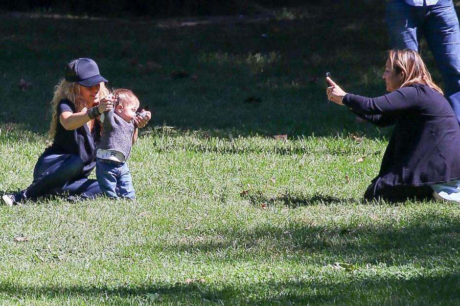 Por lo visto se la estaban pasando muy bien en pleno Central Park. (Foto: Grosby Group)