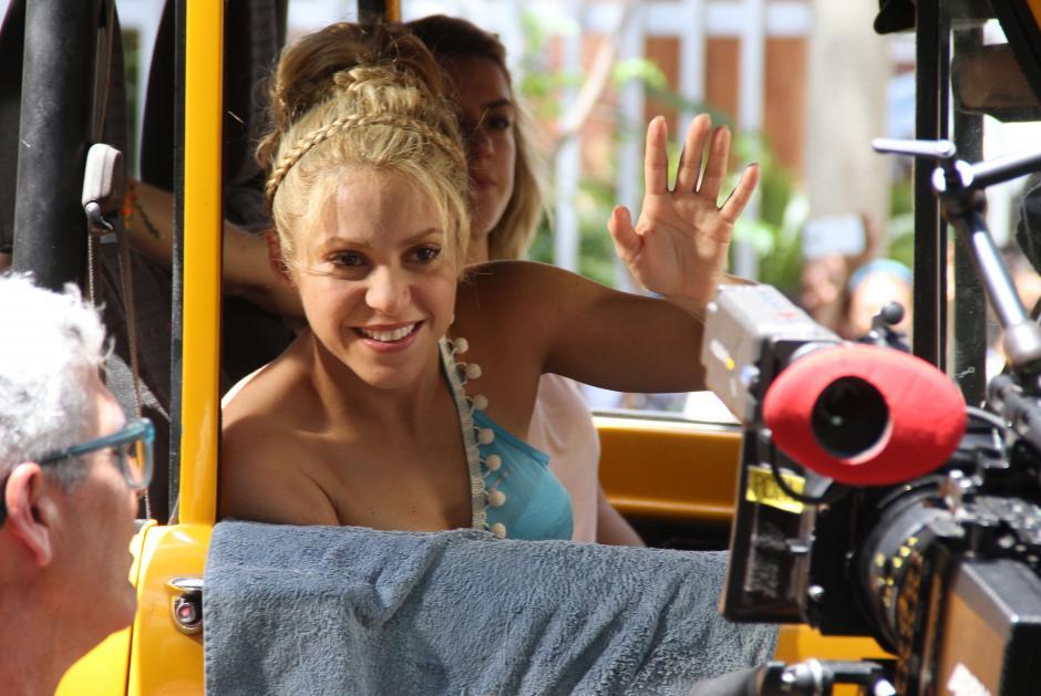 Shakira tiene dos hijos con el futbolista Gerard Piqué. (Foto: EFE)