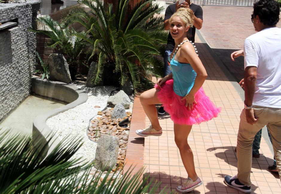 Según Shakira, vive feliz al lado de Pique y aún no piensan en una boda. (Foto: EFE)