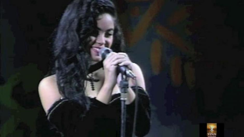 """A los 16 años participó en el Festival de Viña del Mar con su tema """"Eres"""". (Imagen: captura de YouTube)"""