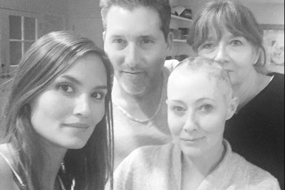 Durante todo el proceso la actriz ha recibido el apoyo de sus amigos y familiares. (Foto: Instagram)