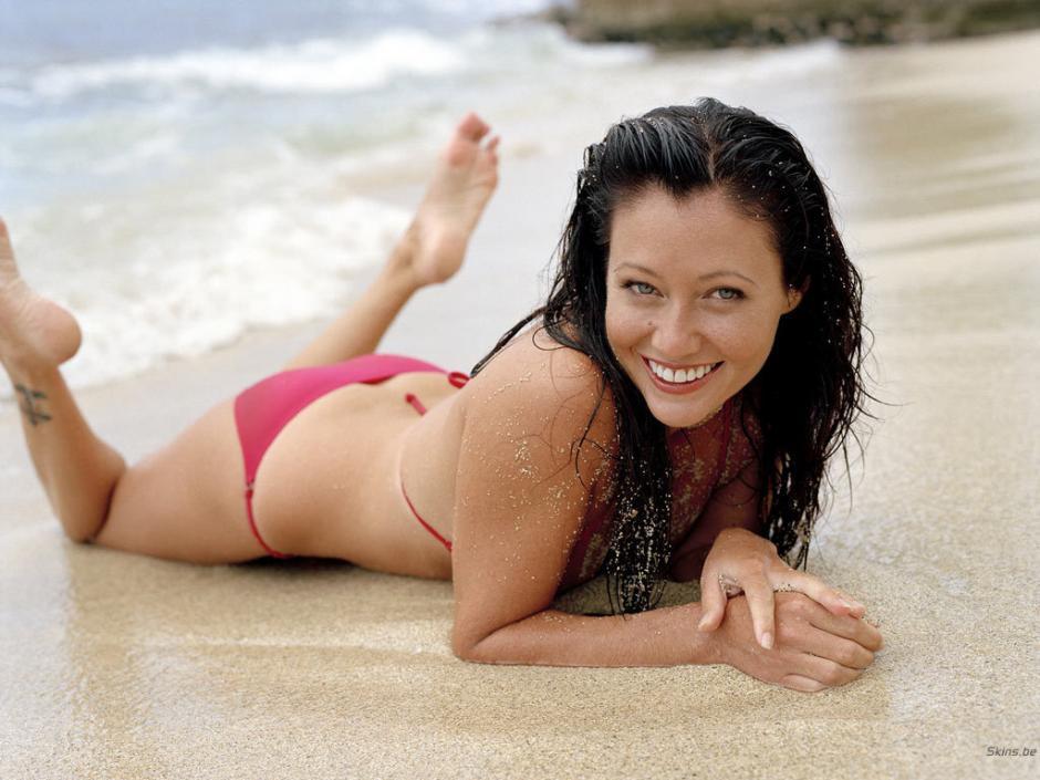 Shannen Doherty siempre ha lucido una hermosa sonrisa. (Foto: californiaexaminer.net)
