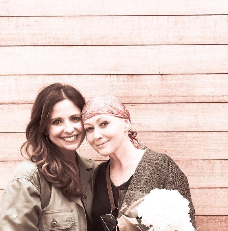 Shannen Doherty comparte fotografías con amigos y familiares. (Foto: Instagram/Shannen Doherty)