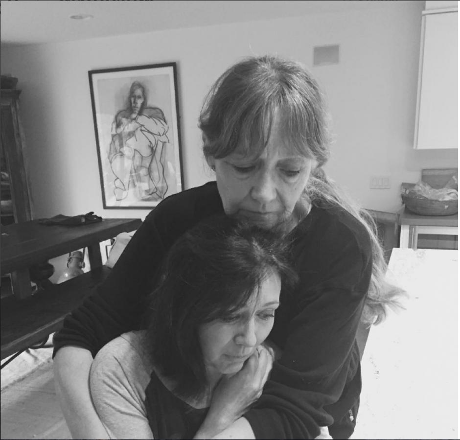 """Sin más que un """"paso 1"""" como descripción, esta fue la primer imagen subida por la actriz. (Foto: Instagram/Shannen Doherty)"""