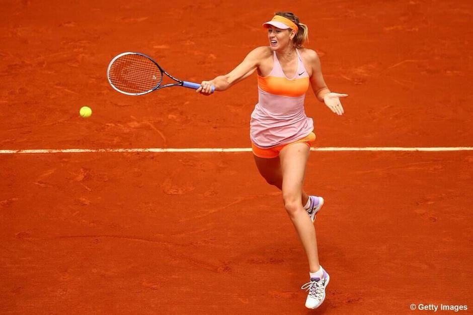 María Sharapova es una tenista profesional de nacionalidad Rusa. (Foto: Archivo)