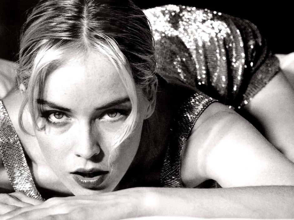 La sensualidad siempre ha sido el sello personal de Sharon Stone.