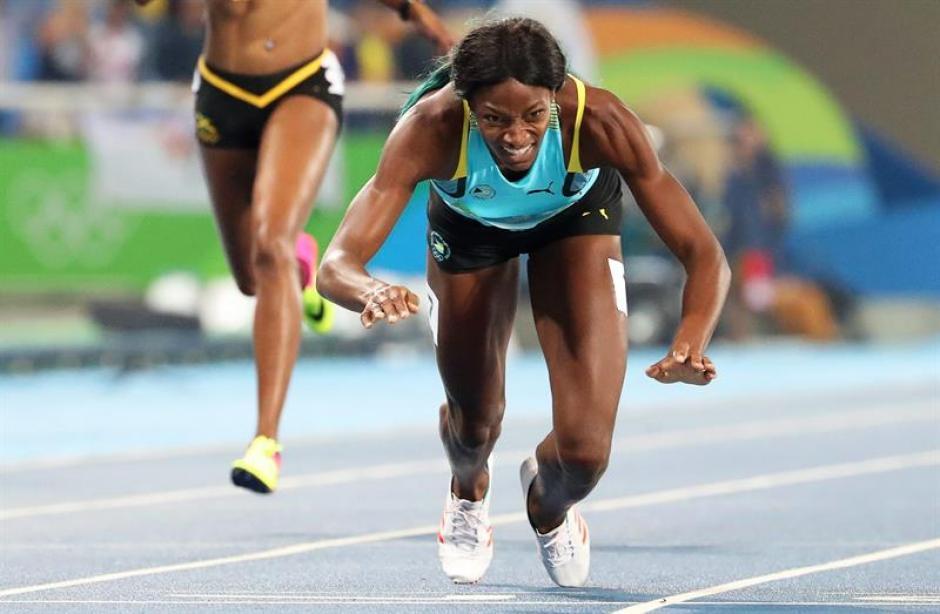 El clavado de Miller evitó que Allyson Felix obtuviera su quinta medalla de oro olímpico. (Foto: EFE)