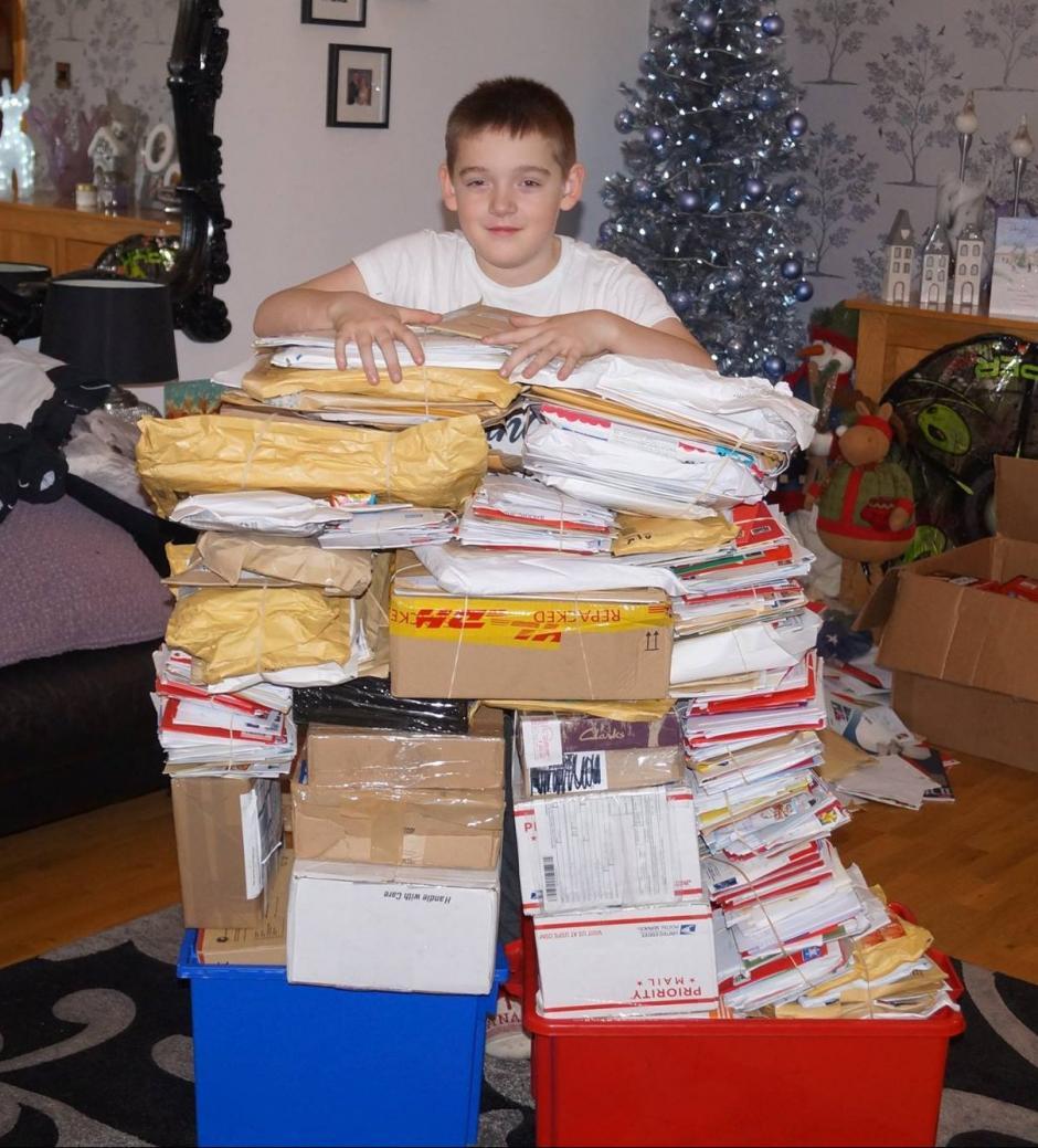 Los regalos y cartas que ha recibido son provenientes de: Italia, Hungría, Canadá, Estados Unidos, Rusia. (Foto: shetlandtimes.co.uk)