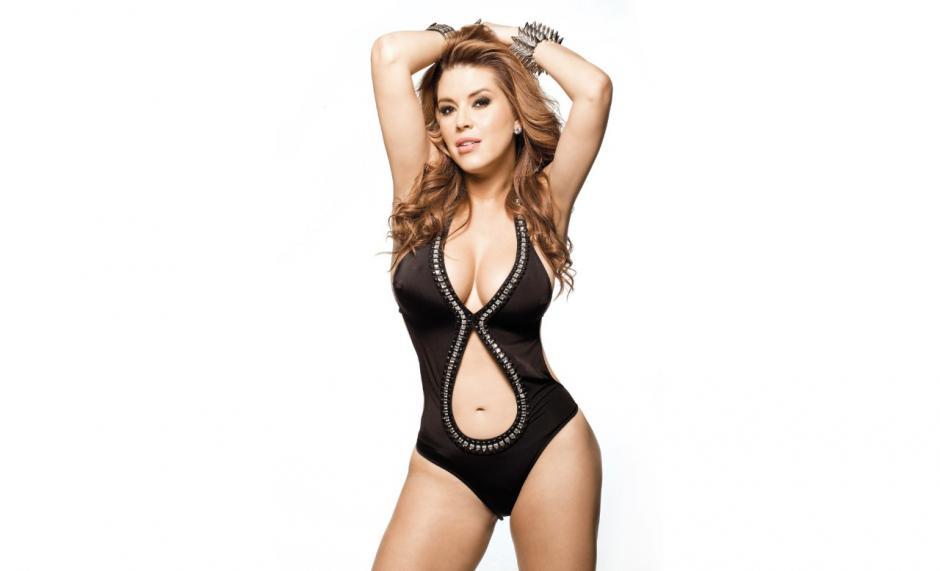 La sensual figura de Alicia Machado. (Foto:taringa.net)