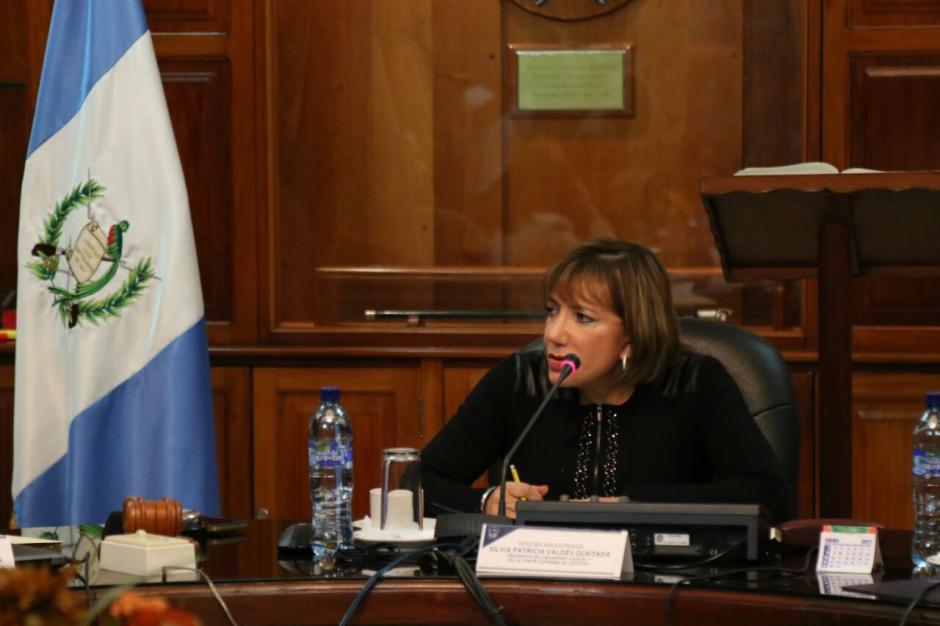 Silvia Valdés cambió su forma de votar y este domingo apoyó a Delia Dávila. (Foto: Alejandro Balán/Soy502)