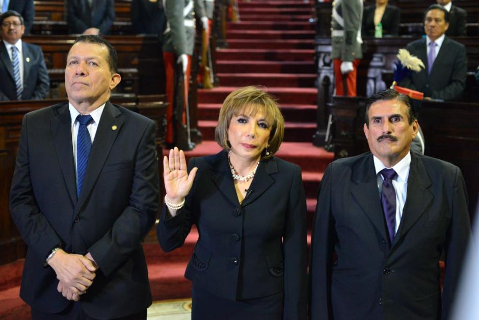 Silvia Valdés es la tercera mujer en ocupar la presidencia de la Corte Suprema de Justicia. (Foto: Jesús Alfonso/Soy502)