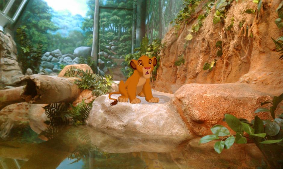 Simba no tendría un bonito reino para gobernar. (Imagen: disneyunhappilyeverafter)