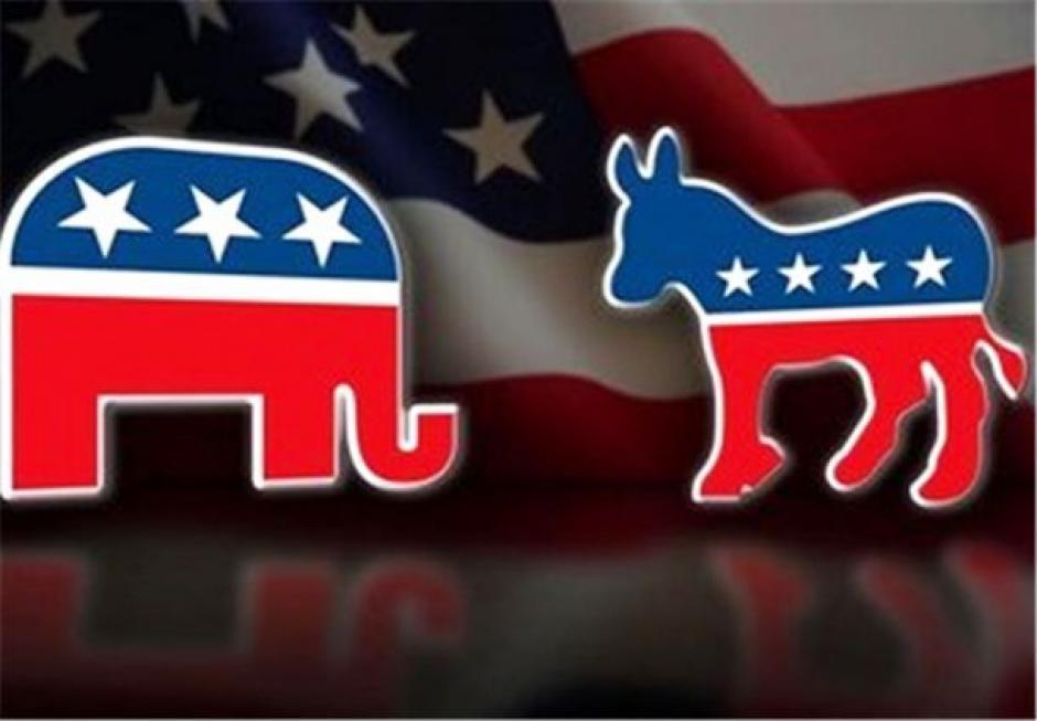 El burro y el elefante, los símbolos de los partidos políticos de los Estados Unidos. (Foto: www.diariolasamericas.com)
