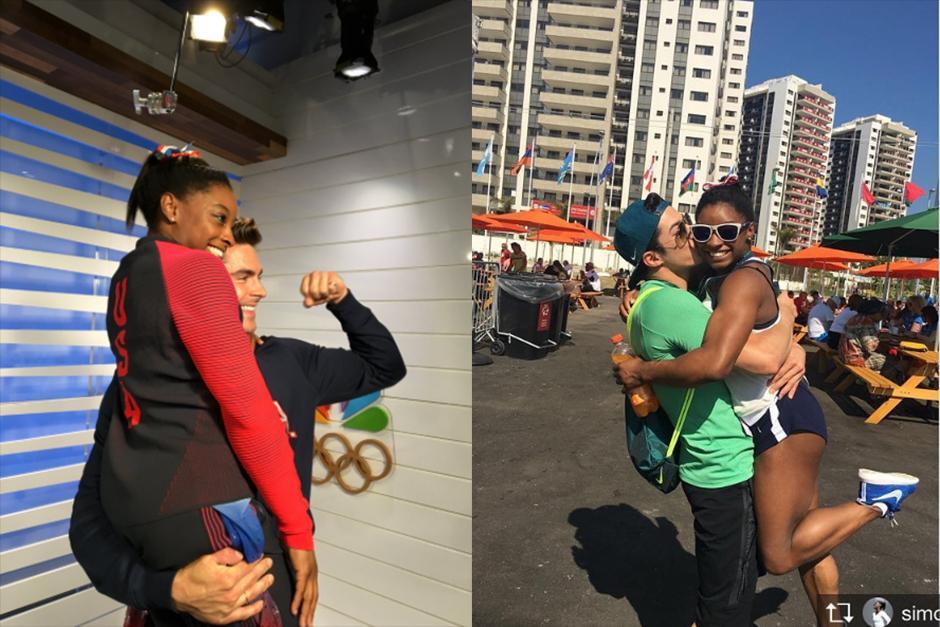 El novio brasileño de Simone le manda un mensaje a Zac Efron. (Foto: Instagram)