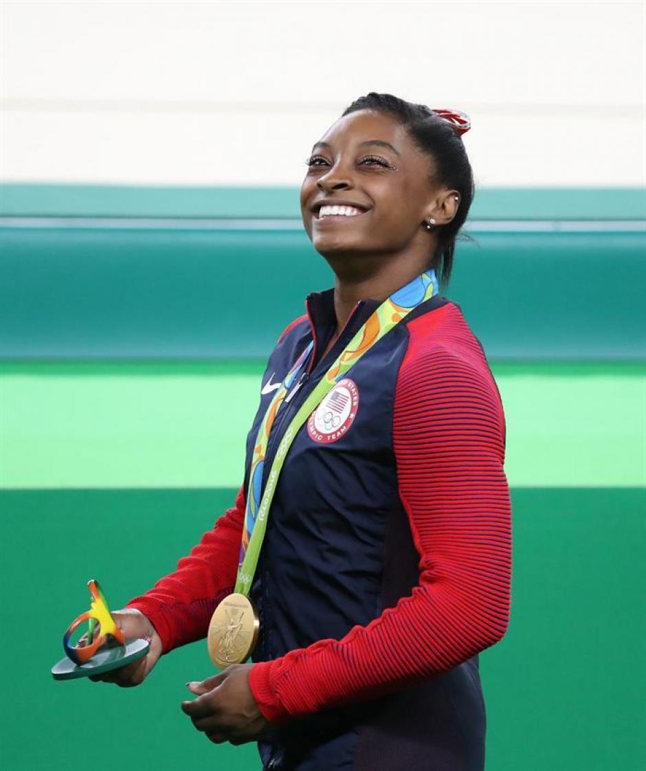 Simone Biles ha ganado tres oros en Río. (Foto: EFE)