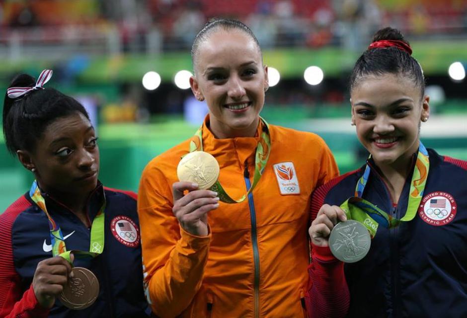 La holandesa Sanne Wevers ganó la medalla de oro. (Foto: EFE)