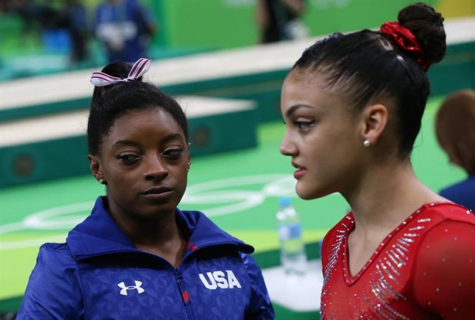 Simone Biles aspiraba a ganar cinco oros en Río. (Foto: EFE)